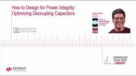 如何进行电源完整性设计:优化去耦电容