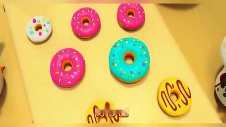 启蒙音乐剧(宝宝巴士)小福的甜甜圈,有这样的厨师朋友太幸福了.mp4