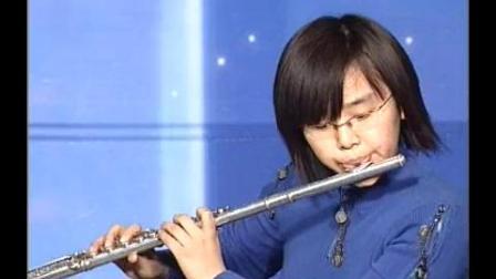 中央音乐学院长笛业余考级教程吹奏示范第六级