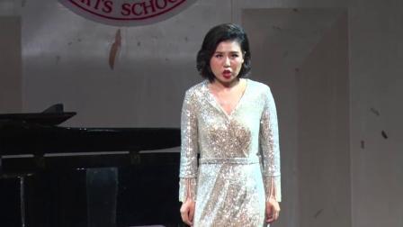 成都声乐培训机构排名高级声乐教师黄娜《冥河的死神》