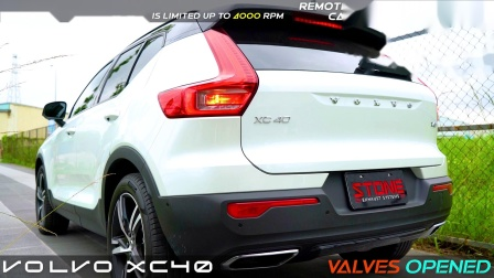 Volvo XC40 T4 STONE Valvetronic Cat-Back Exhaust System.mp4