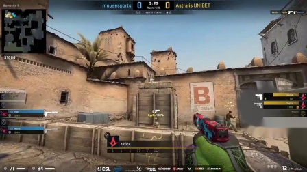 de_stroyed - Astralis vs mousesports - ESL Pro Lea