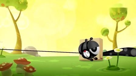 方形狗与大圆猫:方形狗和大圆猫被缠在树上,它突然变得好大.mp4