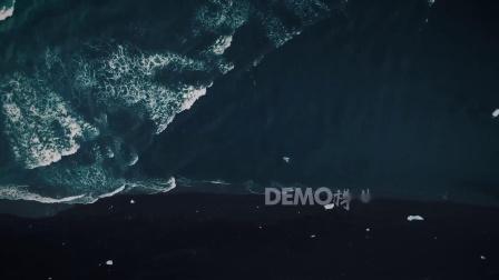 a97 超唯美梦幻蓝色海水海浪海洋大海俯拍美景手机壁纸动态壁纸屏保动画六一儿童晚会大屏幕舞台LED视频素材