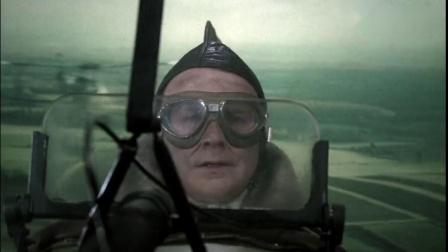 一战空战影片,英飞行员错失机会未能击落德飞机,却赢得对手尊敬