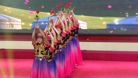长城舞蹈《送你一支玫瑰花》