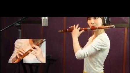 属于  C调(作5)笛子 董敏