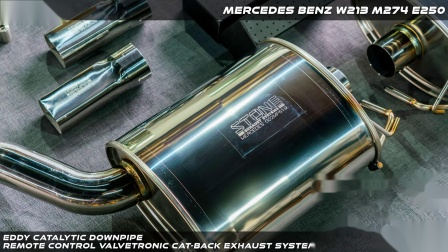 Mercedes Benz W213 M274 E250 Eddy Catted DP + Valvetronic Catback System.mp4