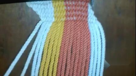 小果手作wayuu原版穿绳包带制作教程 款式10