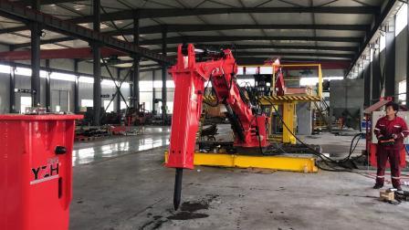 矿山碎石专用机械设备固定式液压破碎机