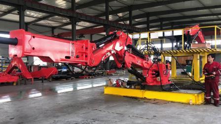 矿山碎石专用固定式液压破碎机械工作手臂