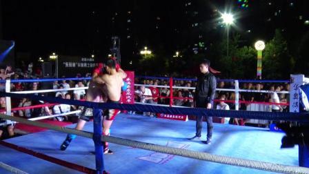 <东风杯>华奥勇士自由搏击冠军赛 第十八场 马乐vs吴政华