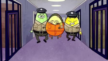 牛油果挖洞越狱,被警察一次次抓回来,我一定要成功!.mp4