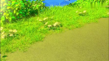 超级小熊布迷:哈哈!独角犀牛被马克的反弹波击中,两眼冒金星!.mp4