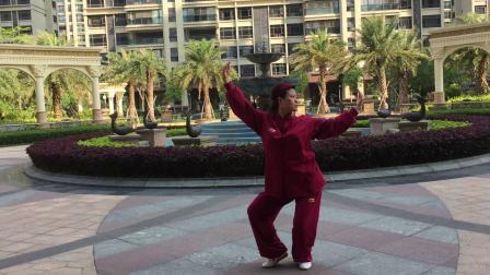 练习健身气功大舞