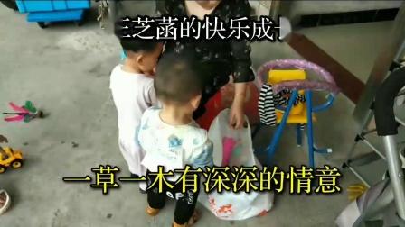 湖南湘潭市金薮农民在广州玩