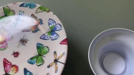 cake plate and stand set