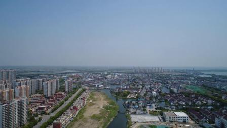 【航拍视频】苏州相城区阳澄湖镇思贤路58亩苏地2020-WG-31号地块住宅项目
