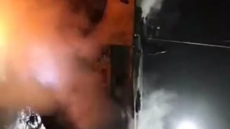 火探管自动灭火系统工程车燃烧现场灭火实验—上海翌灿智能科技有限公司