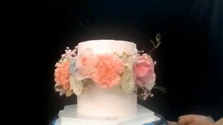 慕巴夫鲜花主题蛋糕又一款正在申请专利的蛋糕来啦!