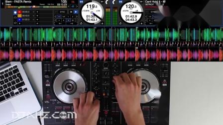 先锋Pioneer DDJ SB2 - House, EDM, Hip Hop混音手法演示