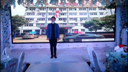 2020盱眙县马坝镇演出抗疫情景剧《青春出击》