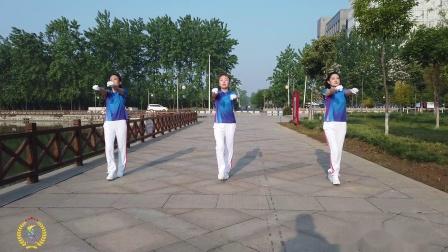中国新时代第五套有氧健身操演示版 第九节