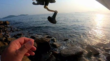 矶钓日志   初试港岛西区,一个有难度的钓点,经历了成功与失败