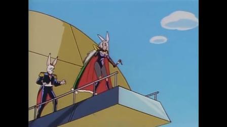 九龙珠:铁剑独自一人干翻整个月球舰队,但为了救鬼丸猛还是让花古夜给跑了.mp4