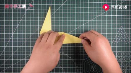 儿童折纸:折法非常简单的可爱长颈鹿.mp4