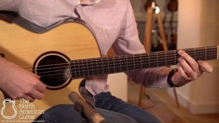 美诗特吉他Maestro鸡翅木背侧 RA-WE 北美吉他录制