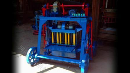 高强度免烧砌块砖设备 移动式水泥制砖机 可换模具砖机