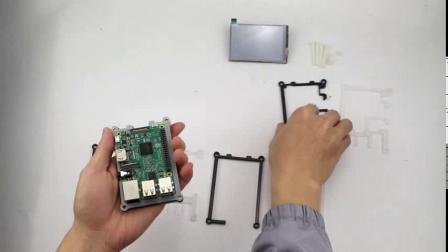 C0905  树莓派3B配3.5寸屏 9层外壳安装视频.mp4