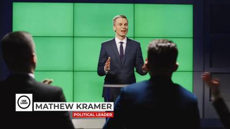 FCPX插件 20个现代新闻栏目人名图片字幕条文字标题下拉横栏动画
