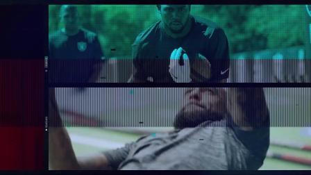 20P72 PR模板制作动作动态能量极限足球动感开场片头宣传视频