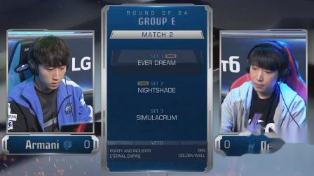 星际争霸2 4月25日GSL2020第一赛季E组(2)Armani(Z) vs Dear(P) 2020