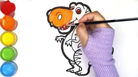 教你学画画:彩绘恐龙.mp4