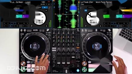 先锋Pioneer DDJ 1000SRT - Funk  Disco old school混音手法演示