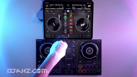 先锋Pioneer DDJ 200 - iPad Bass House混音手法演示