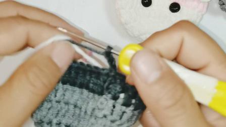 123手作-第70集企鹅鸡蛋袋通用主体编织视频教程