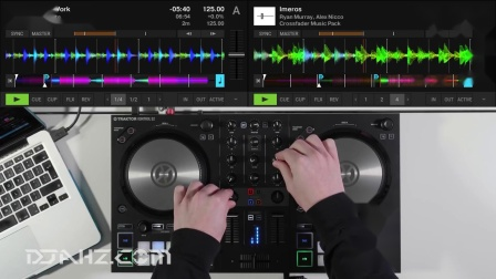 Traktor Kontrol S4 MK3 - Samples House Set混音手法演示_1