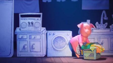 欢乐好声音:猪妈妈唱歌好跳舞棒,瞬间引起台下大家的兴趣.mp4
