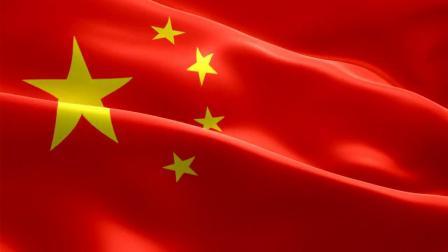 五星红旗中国国旗飘扬明亮视频素材 - 觅知网