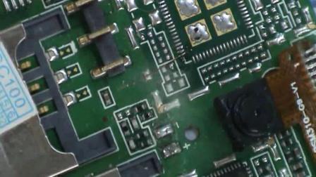 如何在主板上焊接漆包线、手机维修的前景、手机维修培训中心
