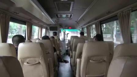 """福州初三复课学生上学可坐""""定制公交"""".mp4"""