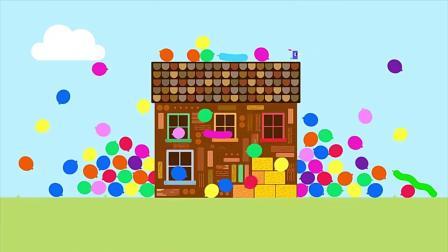 嗨道奇:小朋友们布置好了派对现场,还做了生日蛋糕!.mp4