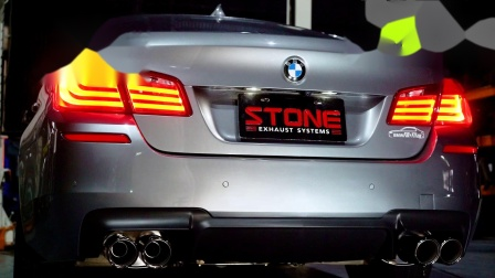 BMW F10 N20 520i Stone Exhaust Eddy Catalytic DP + Valvetronic Exhaust System