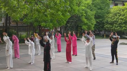 2020余杭街道太极拳骨干培训班结业式第五组演练