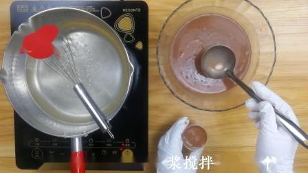 巧克力椰汁马蹄糕做法,千层马蹄糕制作方法,糕点详细流程.mp4
