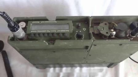 美军AN_PRC-104 Tactical 短波 SSB 背负电台通联